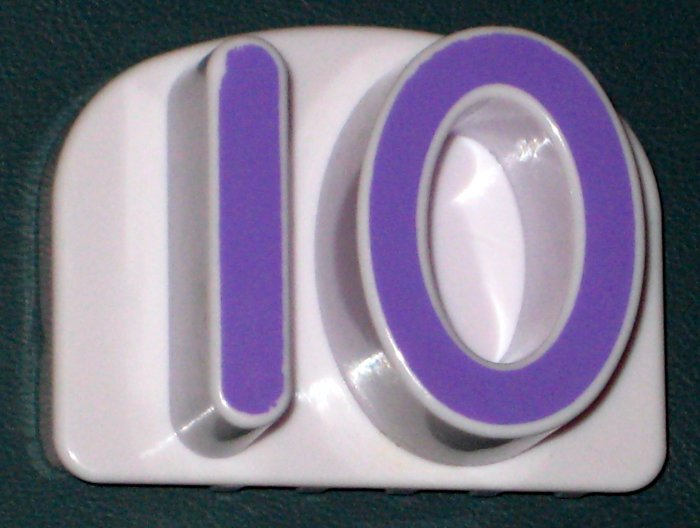 Leapfrog Fridge Phonics Numbers Replacement Number 10