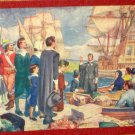 Embarkation of the Pilgrim Fathers 900 Piece Jigsaw Puzzle Good-Win Series Pageant of History