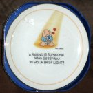 Ziggy American Greetings Fine Porcelain Plate A Friend is Someone Who Sees You in Your Best Light
