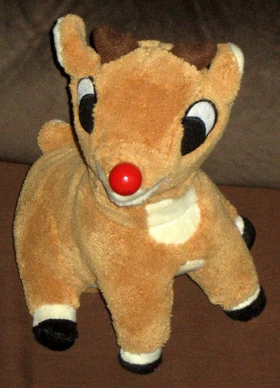 Sold Singing Talking Rudolph The Red Nosed Reindeer 8 Inch