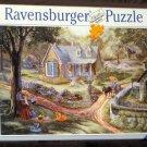 Spring Gathering 500 Piece Jigsaw Puzzle Ravensburger Christine Carey Complete 2000