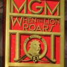MGM When the Lion Roars Book Hardback Hard Cover Peter Hay Dust Jacket 1st Edition 1991