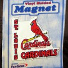 St Louis Cardinals Magnet Baseball Vinyl Molded Refrigerator Hunter Fan Gear Sealed Licensed 2000