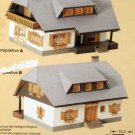 Faller HO Scale B-300 Plastic Modell Club Kit Chalet House Model Train Building Unbuilt Complete