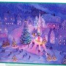 500 Piece Holiday Christmas Scene Jigsaw Puzzle Hallmark Complete