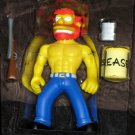 Ragin' Groundskeeper Willie WOS Interactive Figure Series 8 Loose Playmates Simpsons