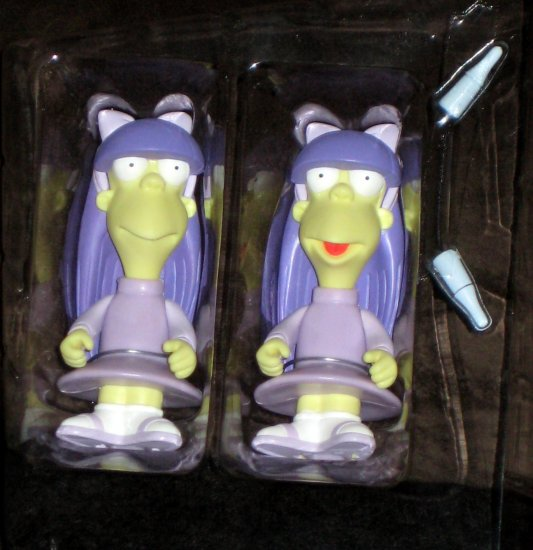 Twins Sherri & Terri WOS Interactive Figure Series 8 Loose Playmates Toys Simpsons