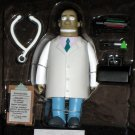 World of Springfield Dr Julius Hibbert Interactive Figure WOS Series 6 Loose Playmates Simpsons
