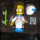 Series 8 Daredevil Bart Simpson WOS Interactive Figure Loose Playmates Simpsons