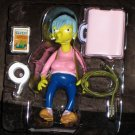 Ms Botz Babysitter World of Springfield Interactive Figure WOS Series 14 Loose Playmates Simpsons
