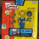Mr Montgomery Burns Blue Suit Re-Paint Variant Interactive Figure Re-Release WOS Simpsons