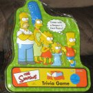The Simpsons Trivia Game Green Tin with Cast Poster SEALED 2000 Homer Marge Bart Lisa Maggie