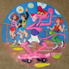 The Pink Panther 125 Piece Round Jigsaw Puzzle Book Circular Whitman 4426-30 Complete 1982