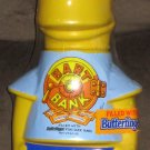 Bart Simpson Butterfinger Coin Bank Simpsons Blue Shirt Candy Bars 12 Inch Street Kids 1990 SEALED