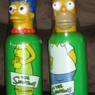 The Simpsons CC Lemon Bottle Cooler Lot of 2 Homer Marge Simpson 2001 SEALED Fox TV