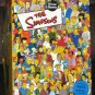 The Simpsons Trivia Game 2001 Cardinal Industries Poster Homer Simpson Fox TV