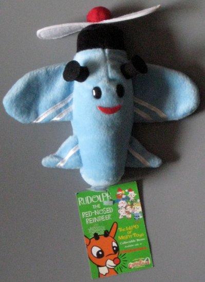 SOLD 6 Inch Plush Bean Bag Lot Rudolph Island Misfit Toys Sam Airplane Boss Elf Hermey Stuffins 1999