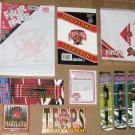 University of Maryland Terrapins Terps Stationery Lot Car Flag Pens Pencils Notepad Paper NEW
