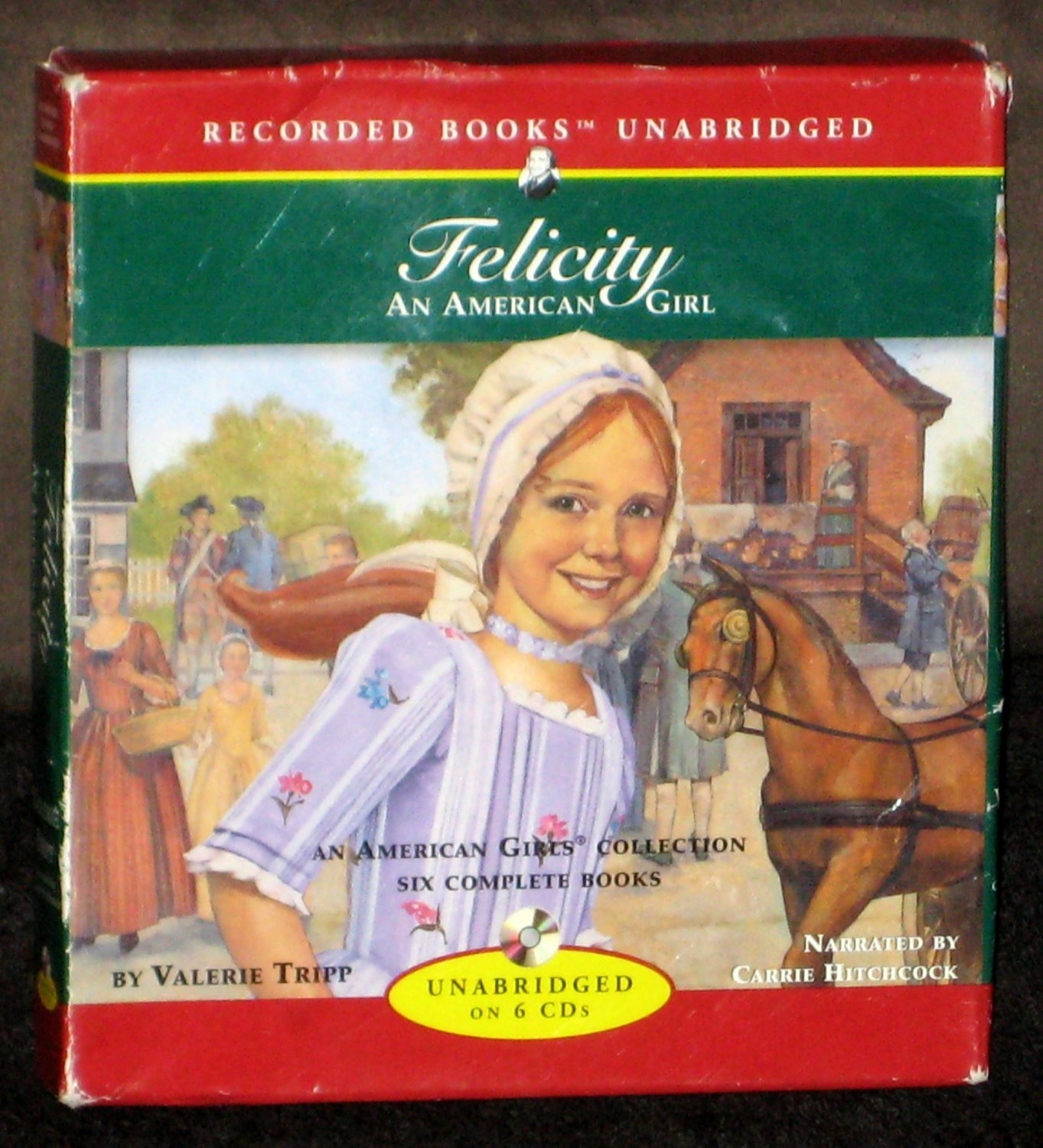 Felicity An American Girl Recorded Books on CD Girls Collection Unabridged