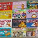 Garfield the Cat Paperback Book Comics Lot Soft Cover Odie PAWS Jim Davis