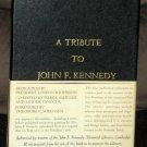 A Tribute to John F Kennedy Book Hardcover Hardback Slipcover JFK Encyclopedia Britannica 1964