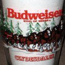 Budweiser Champion Clydesdales Beer Glass Mug Lot of 3 Handled Pilsner Bud Anheuser Busch Horses