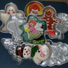 Wilton Aluminum Holiday Cake Pan Lot of 10 Christmas Thanksgiving Halloween Valentine's Day