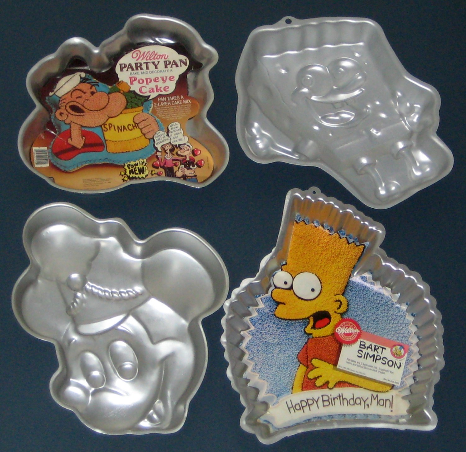 character cake pans sold wilton licensed character cake pan lot of 15 2560