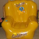 Pepperidge Farm Goldfish Baked Snack Crackers Inflatable Chair Vinyl Gold Fish Yellow