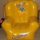 Pepperidge Farm Goldfish Baked Snack Crackers Inflatable Chair Vinyl Gold Fish Yellow