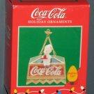 Coca-Cola Enesco Brighten Ups Christmas Ornament Soda Jerk Light Coke Holiday 209538 NIB 1996