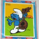 Papa Smurf Smurfette Playskool Wooden Frame Tray Puzzle Lot Wallace Berrie Peyo 325-2-4-5-9