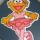 Ballerina Zoe 30 Piece Kid Size Jigsaw Puzzle Sesame Street Muppets Milton Bradley 49445-03