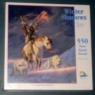 Winter Shadows 550 Piece Jigsaw Puzzle Native American Indians SunsOut HA38174 SEALED