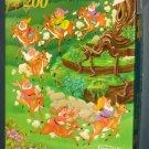 Snow White Jigsaw Puzzle Lot 250 200 Piece Frame Tray Seven 7 Dwarfs Golden Disney COMPLETE