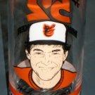 Mike Boddicker Drinking Glass 52 Horn & Horn Restaurants Baltimore Orioles Pitcher Baseball MLB 1985