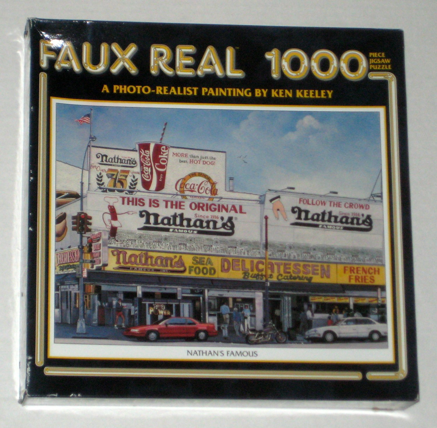 Sold Nathan S Famous Deli Hot Dogs 1000 Piece Jigsaw