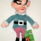 Tall Elf 12 Inch Plush Bean Bag Rudolph Island Misfit Toys Stuffins 1999 NWT CVS Stuffed Toy