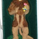 Cowardly Lion The Wizard of Oz Christmas Ornament Resin Kurt Adler 1999 NIB