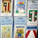 Lot 9 Decorative Garden Flags 5 Different Americana Birds Patriotic Ladybug Bunny 28 x 40 NIP
