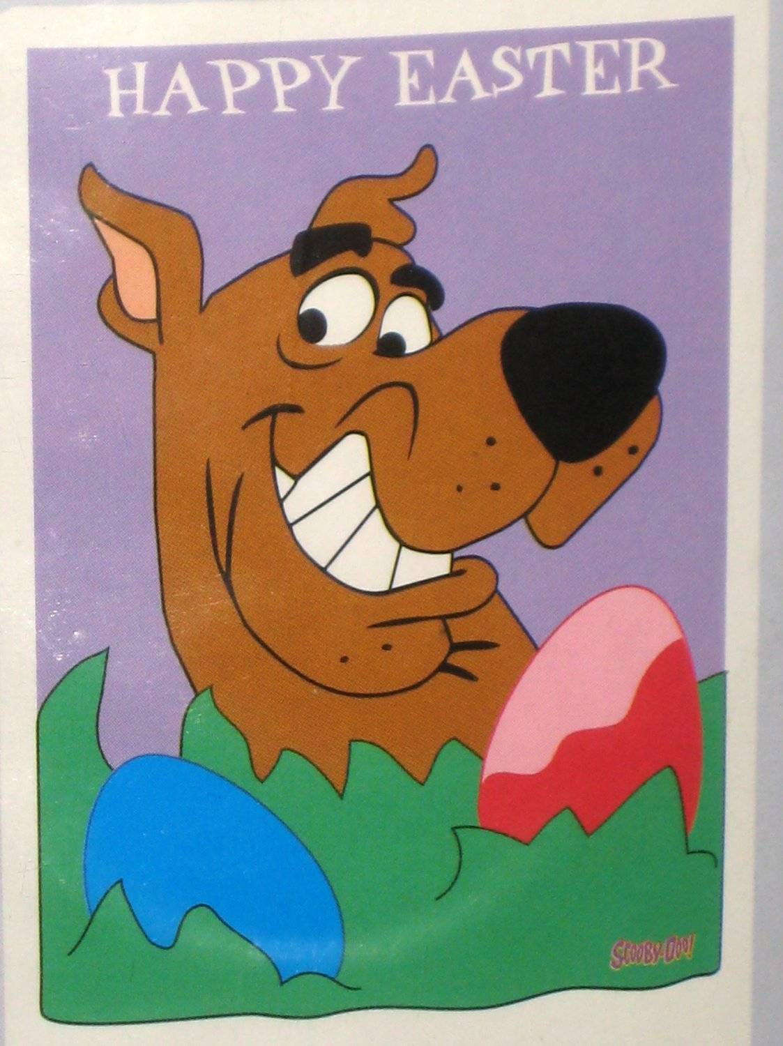 SOLD Happy Easter Scooby Doo Applique Decorative Garden Flag 28 x 40 ...
