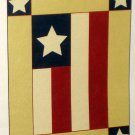 Americana God Bless America Applique Decorative Garden Flag 28 x 40 Red White Blue New NIP