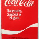 Coca-Cola Book Charted Designs Trademarks Symbols & Slogans Coke Famous Advertising Art Needlework