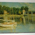 The Bridges at Argenteuil 500 Piece Springbok Jigsaw Puzzle Seine River Monet PZL4041 COMPLETE
