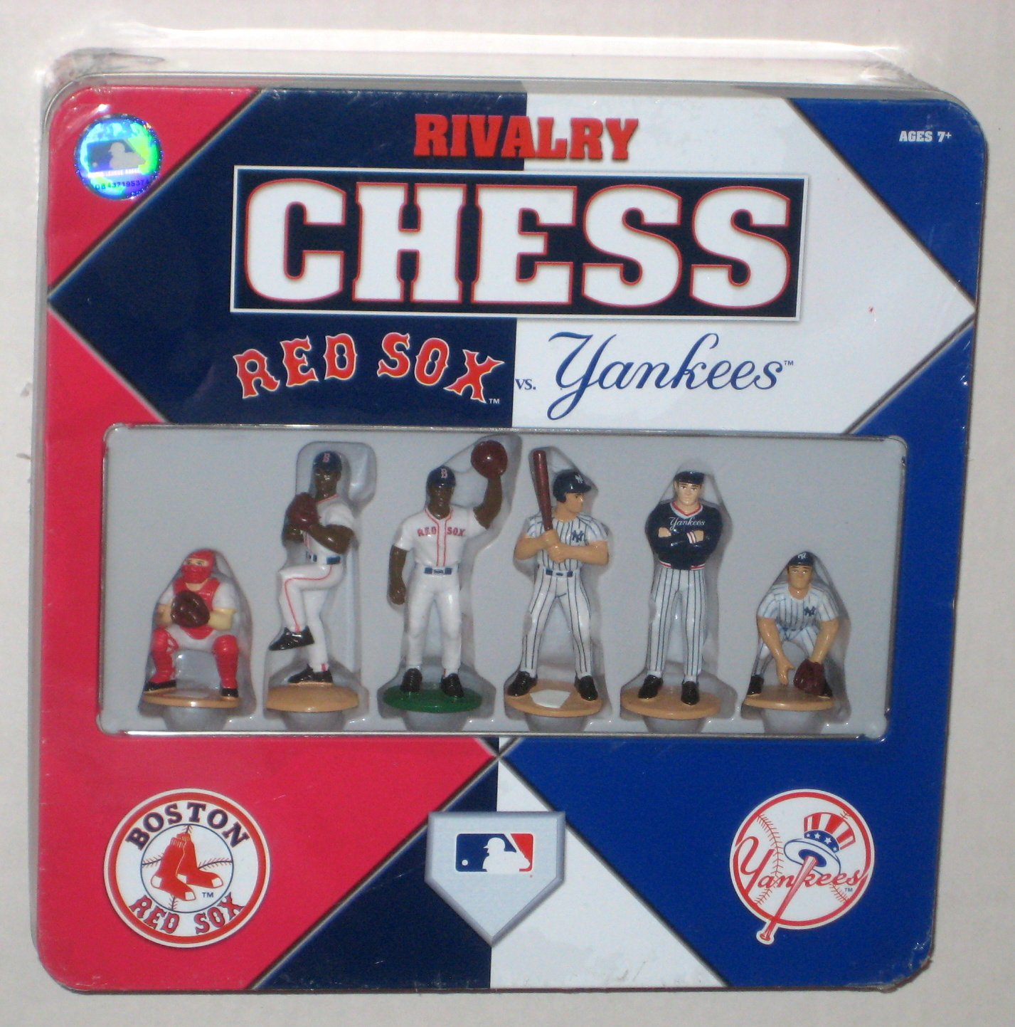 SOLD Rivalry Chess Set Boston Red Sox Vs New York Yankees