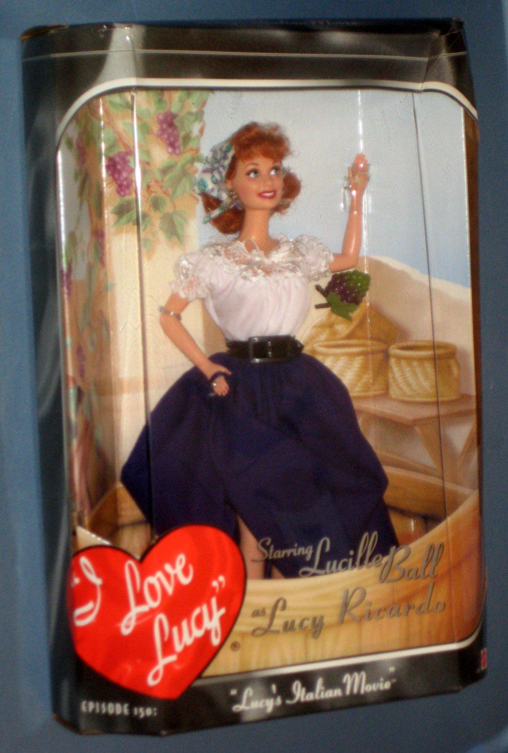 Lucy S Italian Movie Doll Lucille Ball I Love Lucy Ricardo