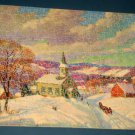 JK Straus 300 Piece Wooden Jigsaw Puzzle Jingle Bells Wood Complete 2478 223 484 1948