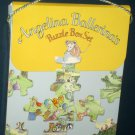 Angelina Ballerina's Puzzle Box Set Frame Tray Four Puzzles Mouse