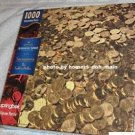 Sacagawea Golden Dollars 1000 Piece Jigsaw Puzzle Springbok QMP9505 Hallmark NEW Sealed