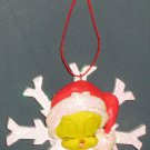 Musical Tweety Pie Bird Christmas Caroler Ornament Looney Tunes Warner Bros 1998